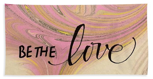 Be The Love Beach Sheet