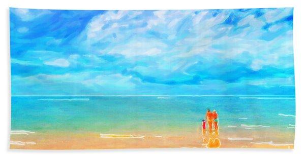 Beach Blues II Beach Towel
