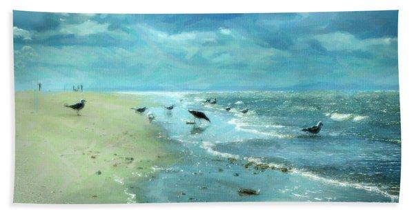 Beach Blues IIi Beach Towel