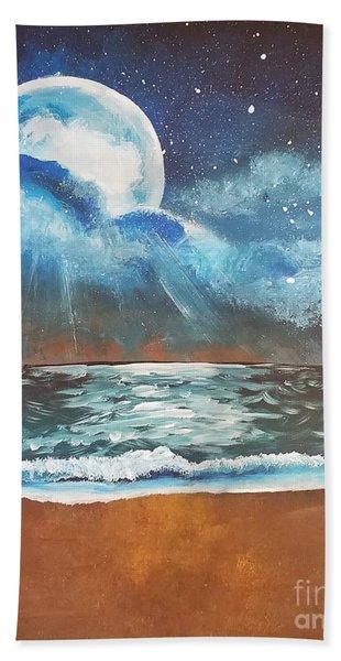 Beach Moon  Beach Towel