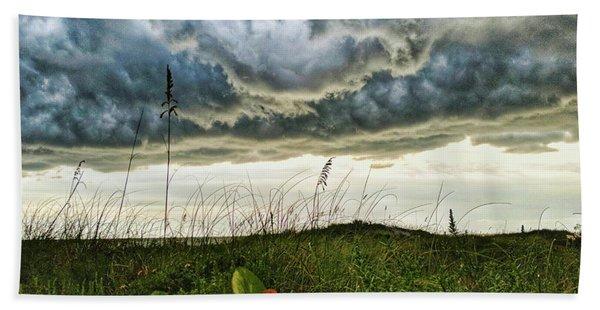 Beautiful Storm Beach Towel