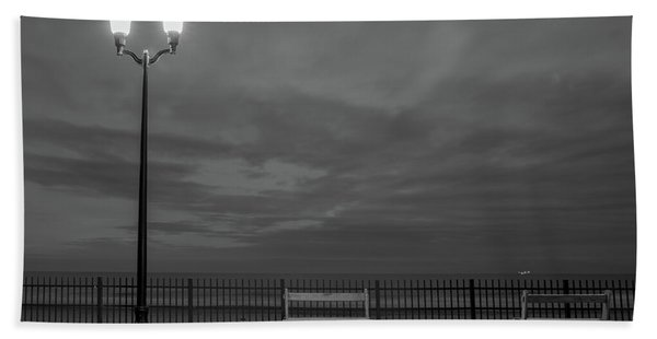 Before Dawn On The Boards Beach Towel