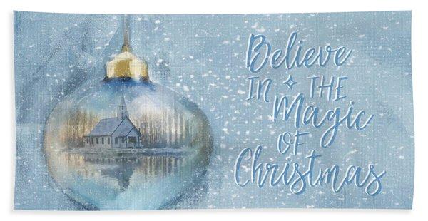 Believe In The Magic - Hope Valley Art Beach Sheet