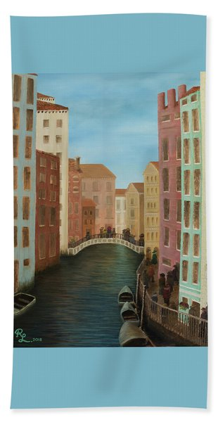 Beyond The Grand Canal Beach Towel
