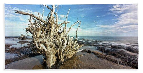 Black Rock Find Beach Towel