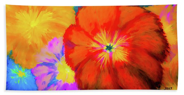 Bloom 2 Beach Towel