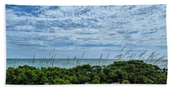 Blue Sky Lullaby Beach Towel