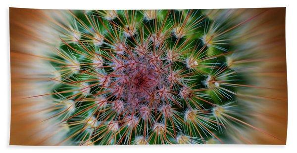 Cactus Cooler Beach Towel