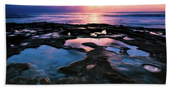 Candy Colored Pools Beach Towel