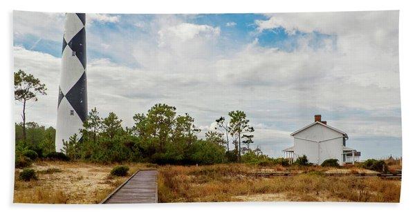 Cape Lookout Lighthouse No. 2 Beach Towel