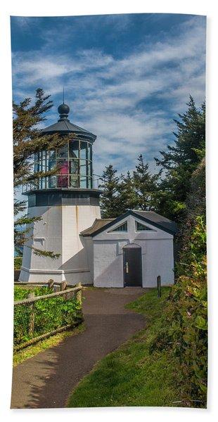 Cape Mereas Lighthouse Beach Towel