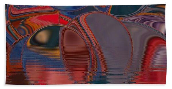 Beach Towel featuring the digital art Cave De Sensation by A zakaria Mami
