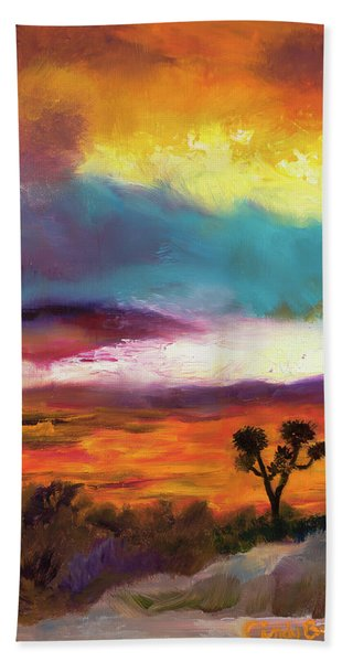 Cindy Beuoy - Arizona Sunset Beach Towel