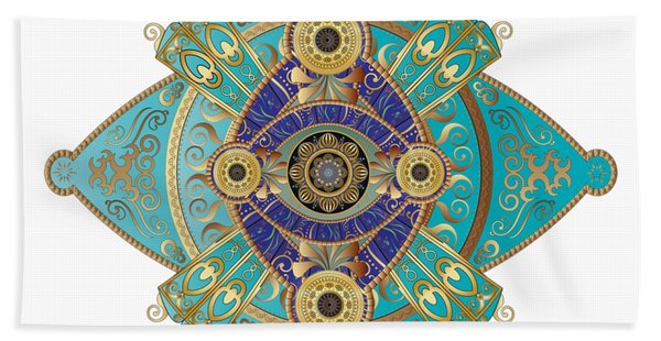 Circumplexical No 3698 Beach Towel