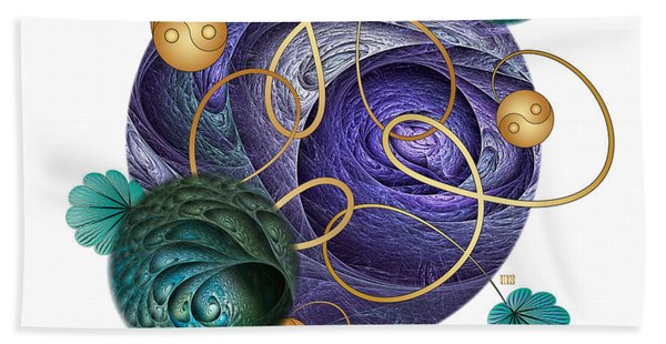 Circumplexical No 3727 Beach Towel