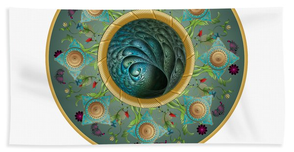 Circumplexical No 3729 Beach Towel