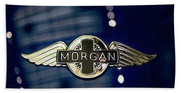 Classic Morgan Name Plate Beach Towel