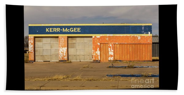 Closed Kerr - Mcgee Station Beach Sheet