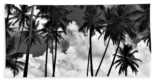 Coconut Trees At Mayaro Beach Towel