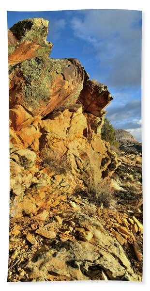 Colorful Crags In Colorado National Monument Beach Towel