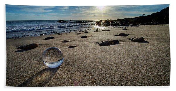 Crystal Ball Sunset Beach Towel