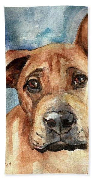 Dog Art Beach Towel