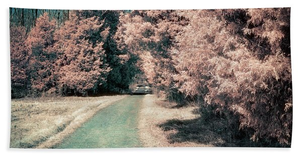 Down The Road Beach Towel