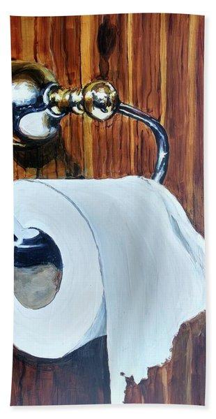 Duchamp's Paperwork Beach Towel
