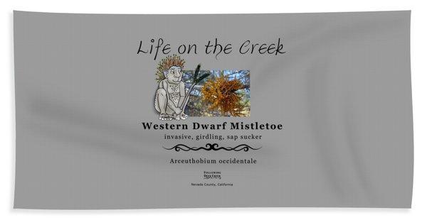 Dwarf Mistletoe Beach Towel