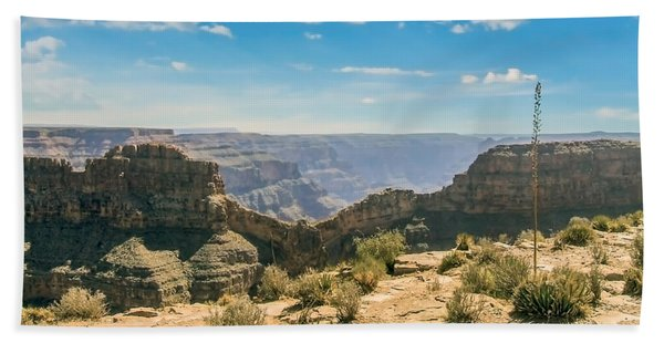 Eagle Rock, Grand Canyon. Beach Towel