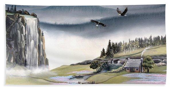 Eagle View Beach Towel