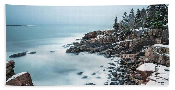 East Coast Winters Beach Towel