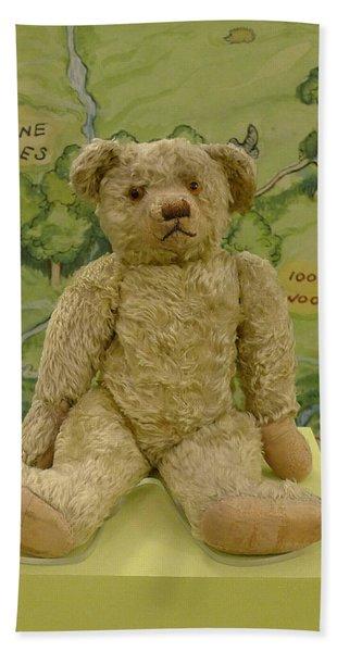 Edward Bear - The Original  Winnie The Pooh Beach Towel