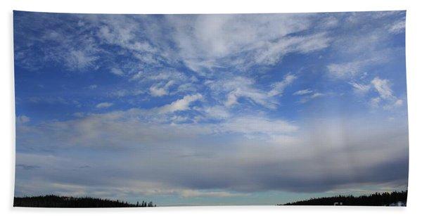 Endless Sky Beach Towel