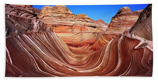 Eroded Cliffs, Vermillion Cliffs Beach Towel