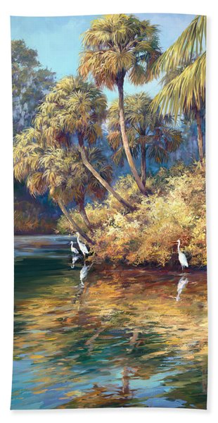 Estero River Beach Towel