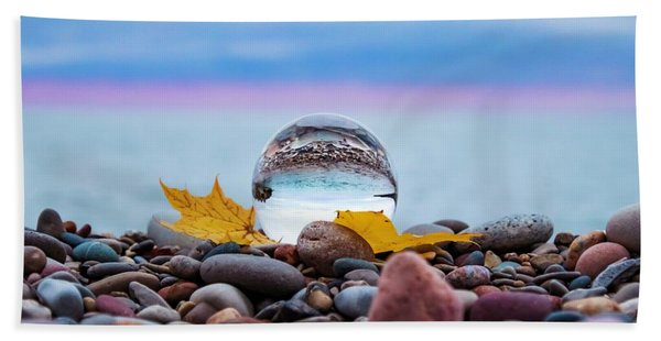 Eye Of The Calm Beach Towel