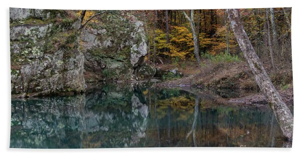 Fall In The Ozarks Beach Towel