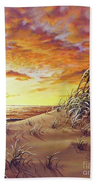 Fire In The Sky Beach Sheet