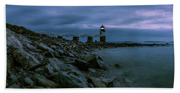 First Light - Marshall Point Panorama Beach Towel
