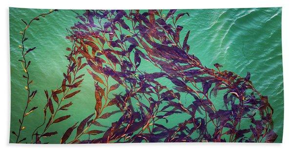 Floatin Kelp I Color Beach Towel
