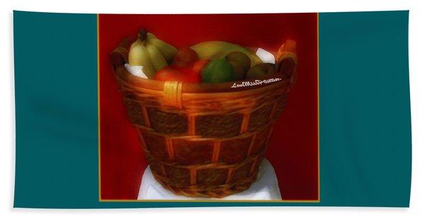 Fruit  Art 33 Beach Sheet