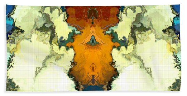 Beach Towel featuring the digital art Fuego  by A z Mami