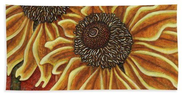 Garden Room 38 Beach Towel