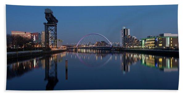 Glasgow Relfected Beach Towel