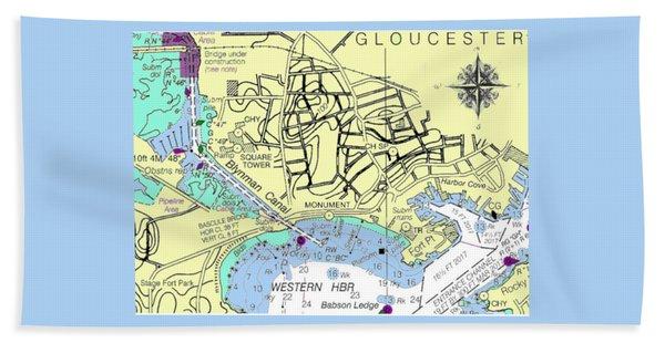Gloucester, Ma Beach Towel