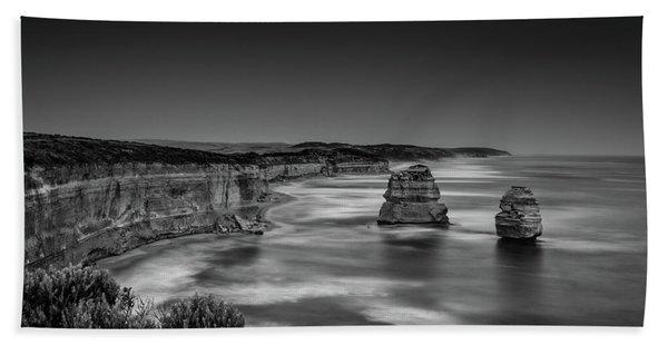 Gog And Magog At The Twelve Apostles Beach Towel