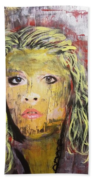 Gold Dust Woman Beach Towel