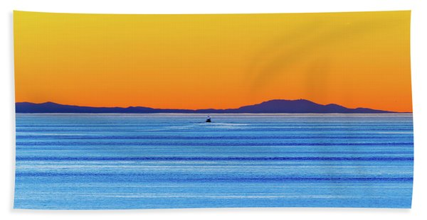 Golden Sunset Series I I Beach Towel