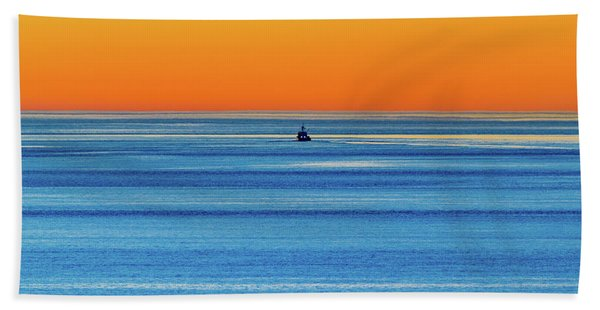 Golden Sunset Series I I I Beach Towel